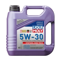 Моторное масло LIQUI MOLY Synthoil High Tech 5W30, 4л